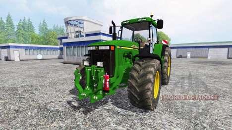 John Deere 8110 v2.0 pour Farming Simulator 2015