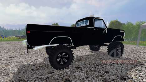 Ford F-250 Highboy 1972 v1.3 pour Farming Simulator 2015