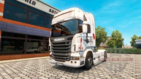 Assassins Creed peau pour Scania camion pour Euro Truck Simulator 2