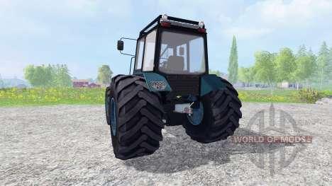 MTZ-1221 Belarus [der neue Motor] für Farming Simulator 2015