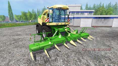 Krone Big X 580 v1.0 pour Farming Simulator 2015