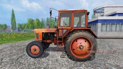 MTZ-550 pour Farming Simulator 2015