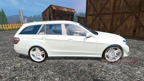 Mercedes-Benz E350 CDI Estate v1.1 pour Farming Simulator 2015