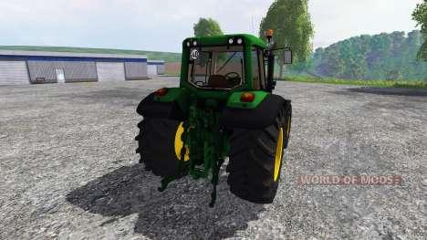 John Deere 6620 v0.8 für Farming Simulator 2015
