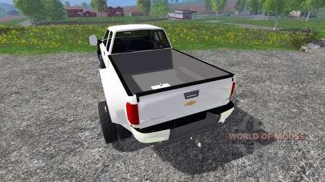 Chevrolet Silverado Duramax pour Farming Simulator 2015