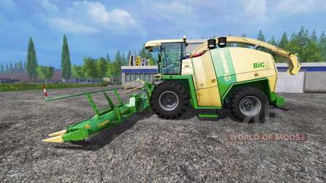 Krone Big X 1100 [horsch titan] pour Farming Simulator 2015
