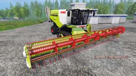 CLAAS Lexion 780TT v1.2 pour Farming Simulator 2015