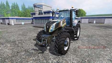 New Holland T8.435 [camo] pour Farming Simulator 2015