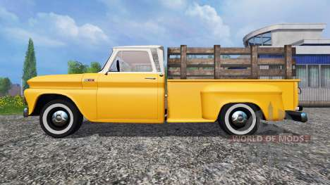 Chevrolet C10 Fleetside 1966 pour Farming Simulator 2015