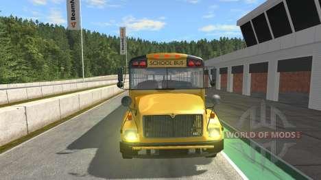 Blue Bird American School Bus v2.1 pour BeamNG Drive