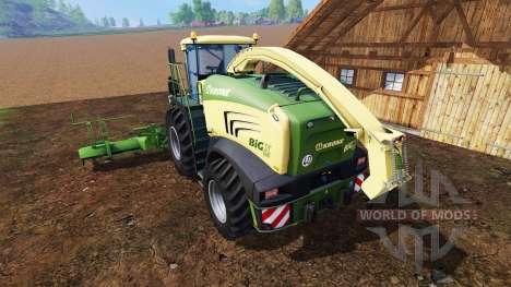 Krone Big X 580 pour Farming Simulator 2015