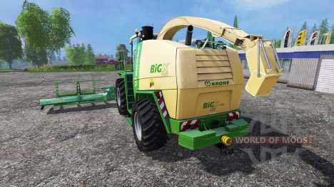 Krone Big X 1100 [horsch titan] für Farming Simulator 2015