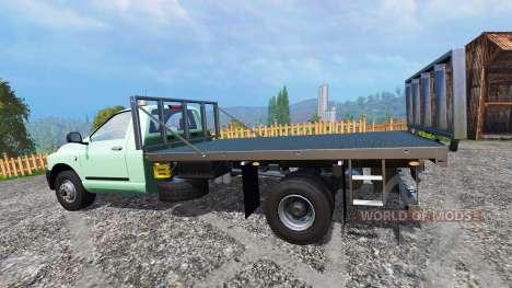PickUp Flatbed pour Farming Simulator 2015