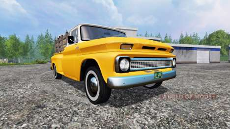 Chevrolet C10 Fleetside 1966 v1.3 für Farming Simulator 2015