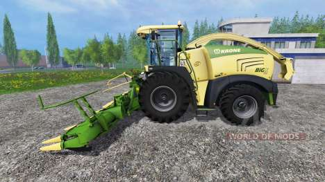 Krone Big X 580 v1.1 pour Farming Simulator 2015