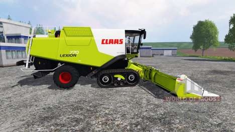 CLAAS Lexion 770TT v1.1 pour Farming Simulator 2015