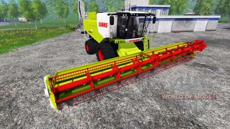 CLAAS Lexion 750 v1.1 pour Farming Simulator 2015
