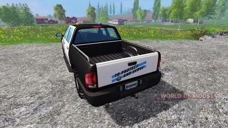 PickUp Sheriff für Farming Simulator 2015