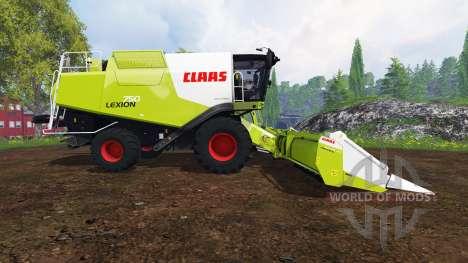 CLAAS Lexion 750 v1.4 für Farming Simulator 2015