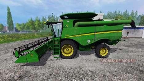 John Deere S660 v1.1 pour Farming Simulator 2015
