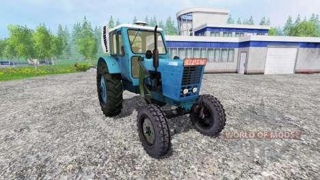 MTZ-50 LITRES avec la console chargeur pour Farming Simulator 2015