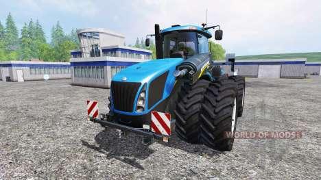 New Holland T9.560 DuelWheel v3.0.1 pour Farming Simulator 2015