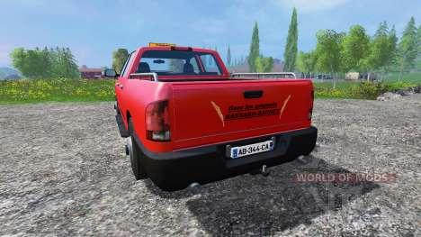 PickUp [Gaec Les Muguets] pour Farming Simulator 2015