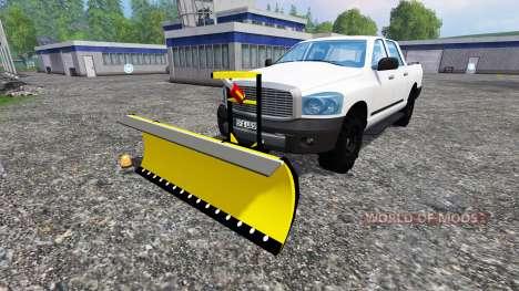 Dodge Pickup [snowplow] für Farming Simulator 2015