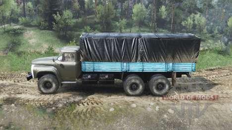 ZIL-133 für Spin Tires