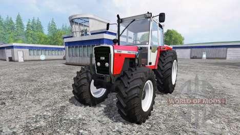 Massey Ferguson 698T [front loader] für Farming Simulator 2015