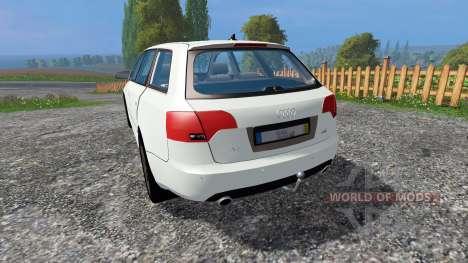 Audi A4 Avant Quattro v1.1 für Farming Simulator 2015