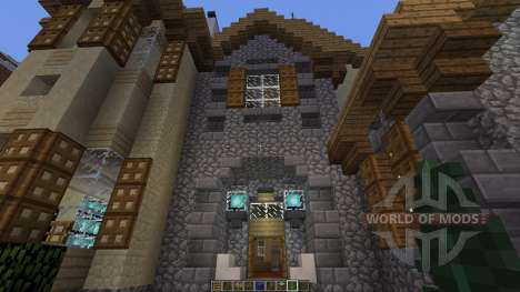 European Mountain Mansion für Minecraft