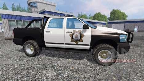 PickUp Sheriff v2.0 pour Farming Simulator 2015