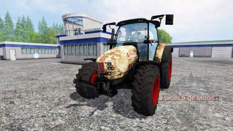Hurlimann XM 4Ti camouflage v4.0 für Farming Simulator 2015