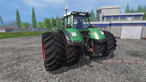 Fendt 1050 Vario [grip] v3.9 pour Farming Simulator 2015