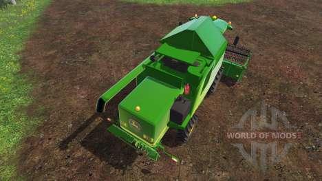 John Deere W540 v2.0 pour Farming Simulator 2015