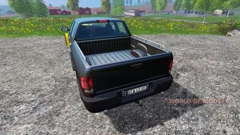 Dodge Pickup [snowplow] v2.1 für Farming Simulator 2015