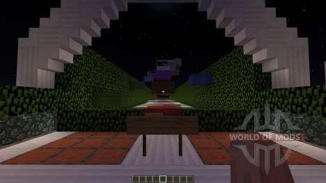 Rainbow Parkour für Minecraft