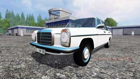 Mercedes-Benz 200D (W115) 1973 pour Farming Simulator 2015