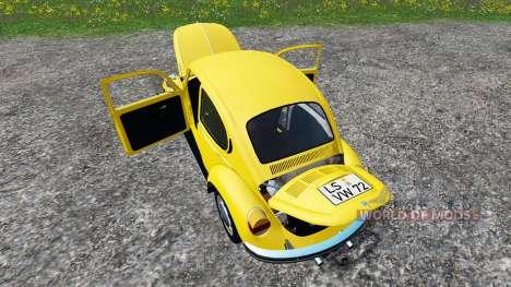 Volkswagen Beetle 1973 pour Farming Simulator 2015