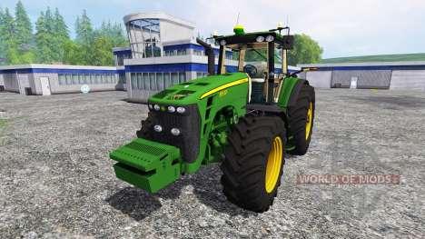 John Deere 8530 [EU] v2.0 pour Farming Simulator 2015