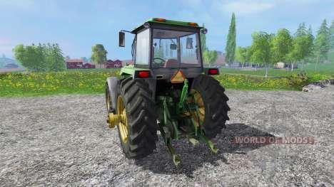 John Deere 4755 pour Farming Simulator 2015