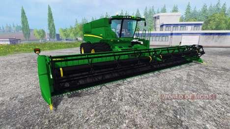 John Deere S680 [TerraTire] für Farming Simulator 2015