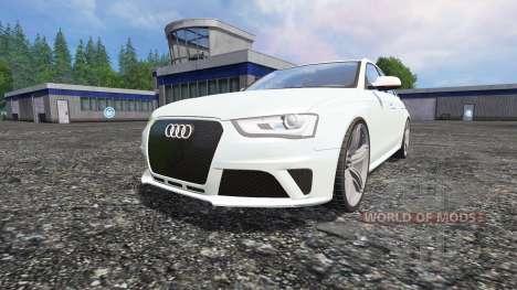 Audi RS4 Avant für Farming Simulator 2015