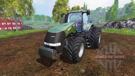 Case IH Magnum CVX 380 [forest] v0.0.2 pour Farming Simulator 2015