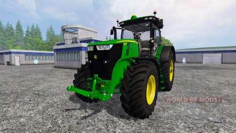 John Deere 7290R and 8370R v0.4 für Farming Simulator 2015