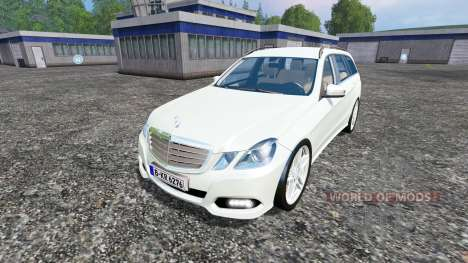 Mercedes-Benz E350 CDI Estate pour Farming Simulator 2015