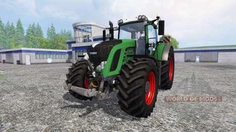 Fendt 936 Vario SCR v5.0 pour Farming Simulator 2015