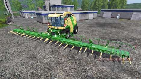 Krone Easy Collect 3053 pour Farming Simulator 2015