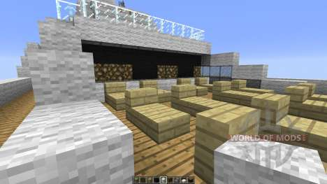Le Soleal Minecraft Ship Replica für Minecraft